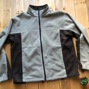 Columbia XL fleece zip up jacket EUC